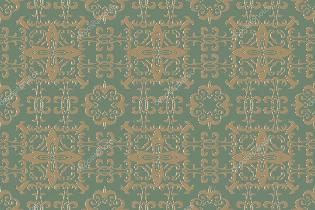 Background Pattern Vintage Style Texture Victorian Baroque