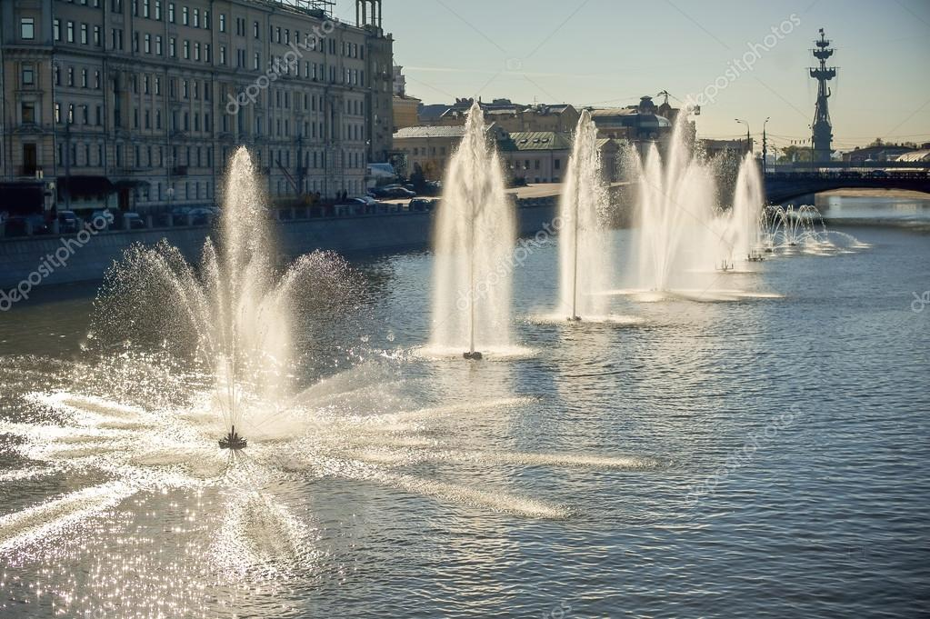 Fountains on the River, Moscow