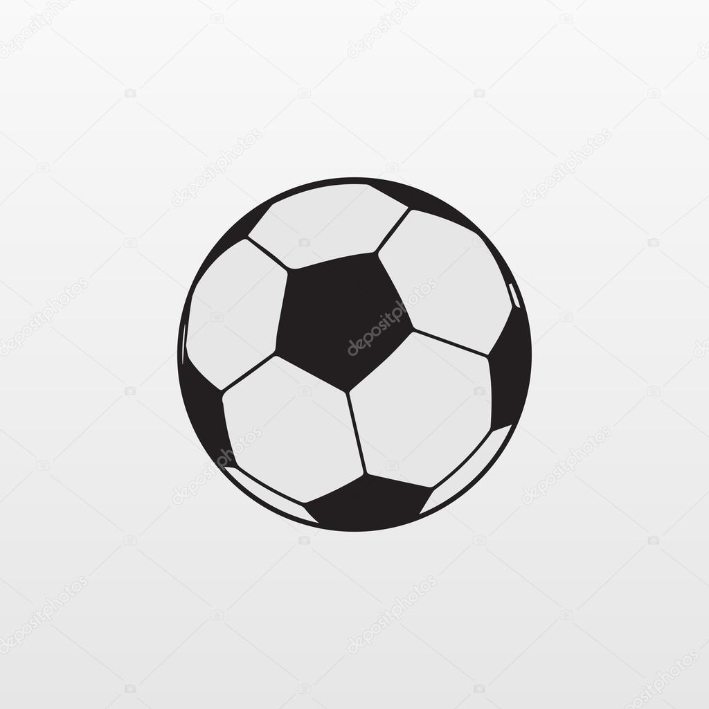 Fussball Symbol Fussball Symbol Eps10 Fussball Symbol Vektor