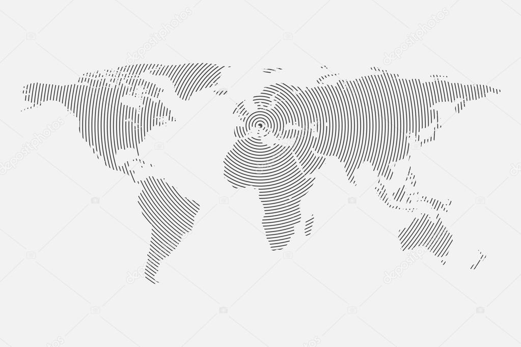 Gray wave world map world map blank world map vector world map gray wave world map world map blank world map vector world map flat world map template world map object world map eps world map infographic gumiabroncs Gallery
