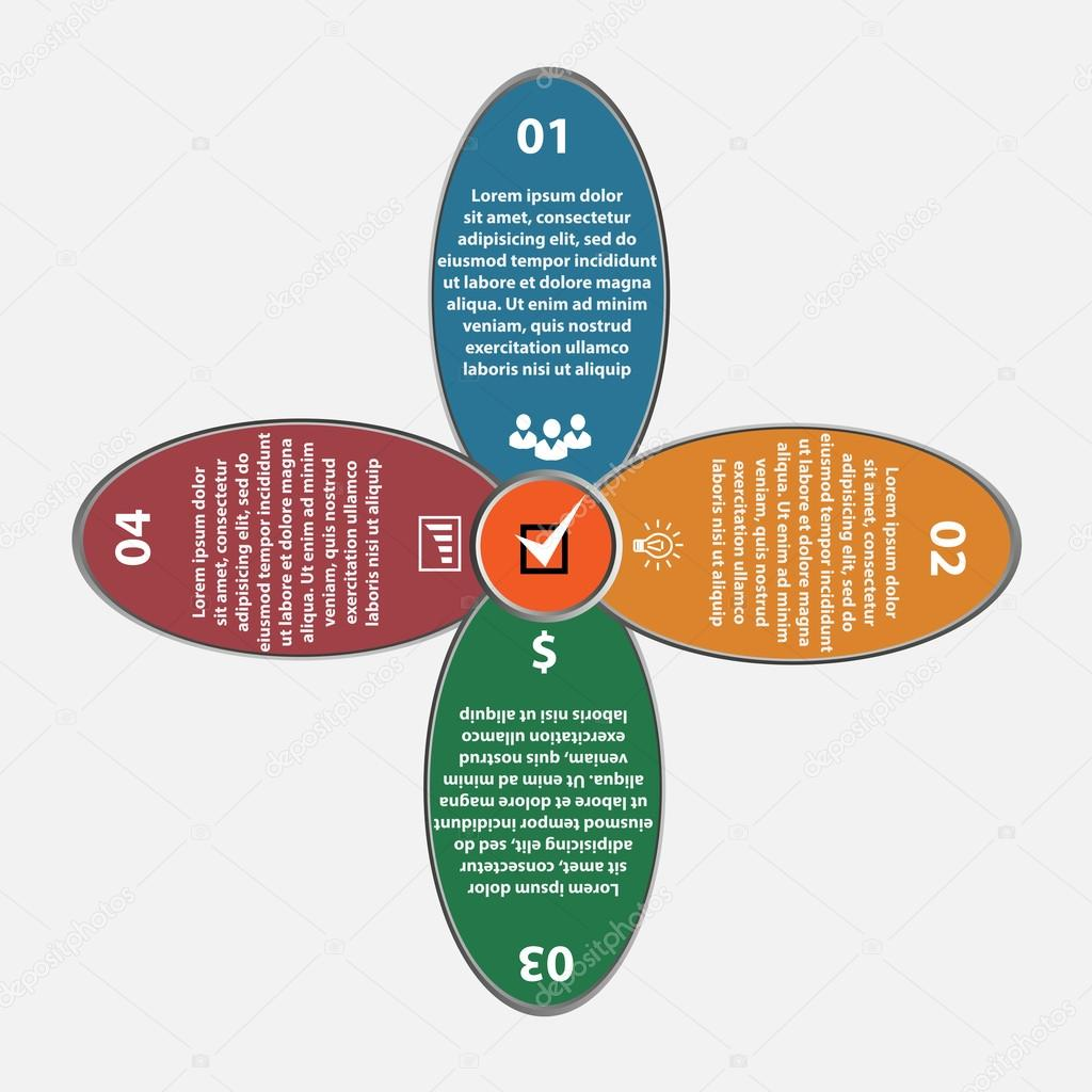 Vector flover circle infographics set template for diagram graph vector flover circle infographics set template for diagram graph presentation and chart ccuart Gallery