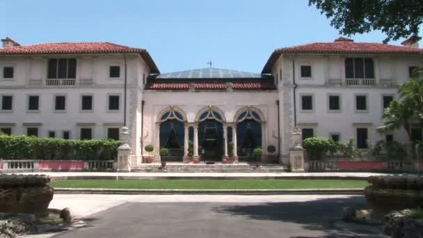 Vizcaya Villa Entrance in Miami