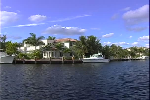 Fort Lauderdale Canal in Florida