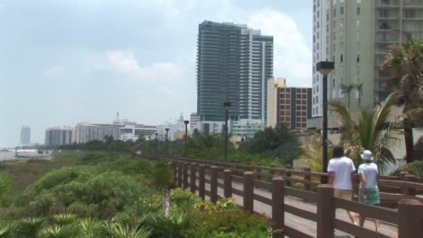 Miami beach chodník