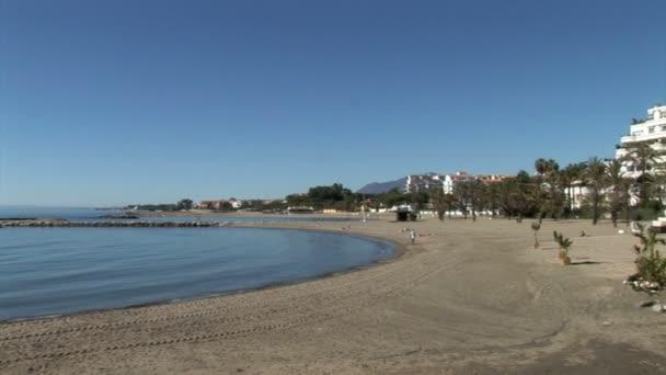 pláž Puerto banus