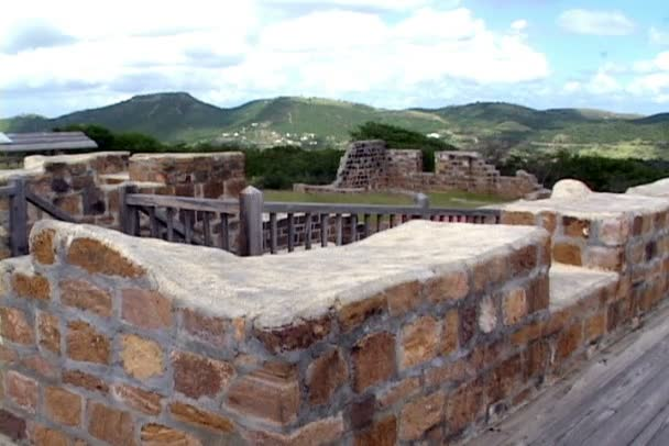 Fort Ruins on Antigua and Barbuda