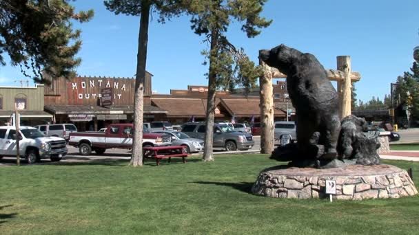 Park in West Yellowstone city
