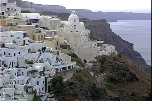 Fira city view in Greece