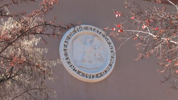 Great Seal of New Mexico sign