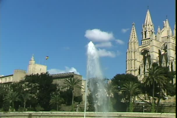 Cathedral and Palace with fountain