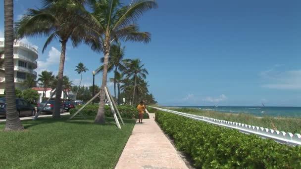 Chodník Palm Beach na Floridě