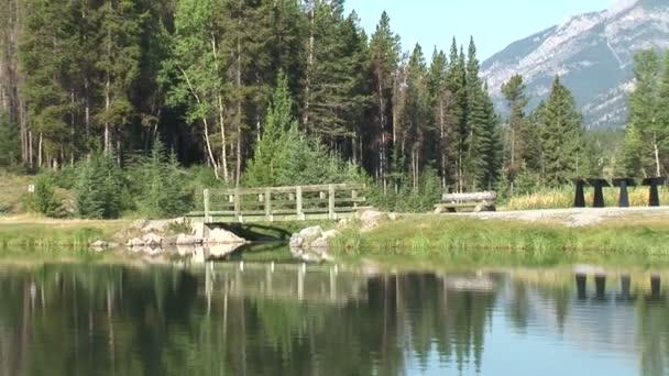 Steg auf Johnson Lake
