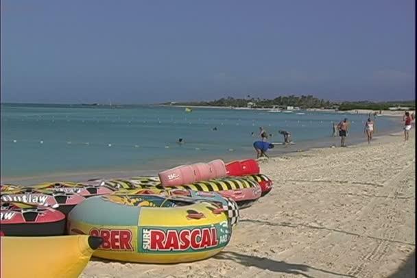 Spiaggia di sabbia su Aruba