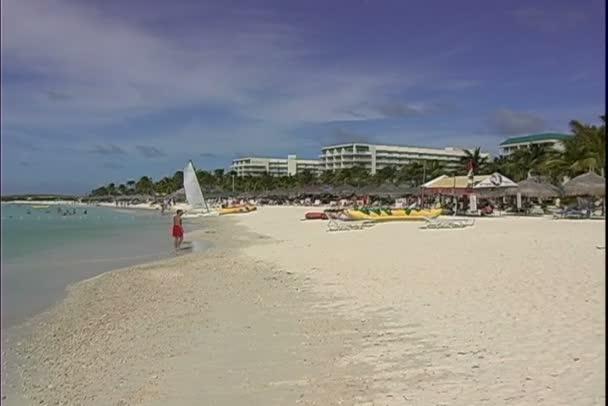 Palm Beach sullisola di Aruba