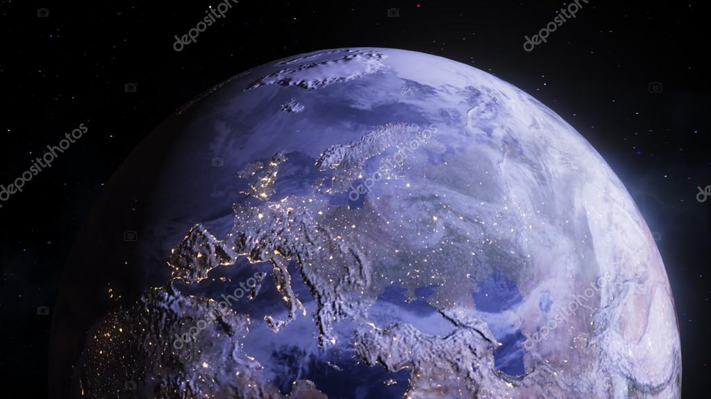 Earth Wallpaper 4k Realistic Scenes The Planet Earth With