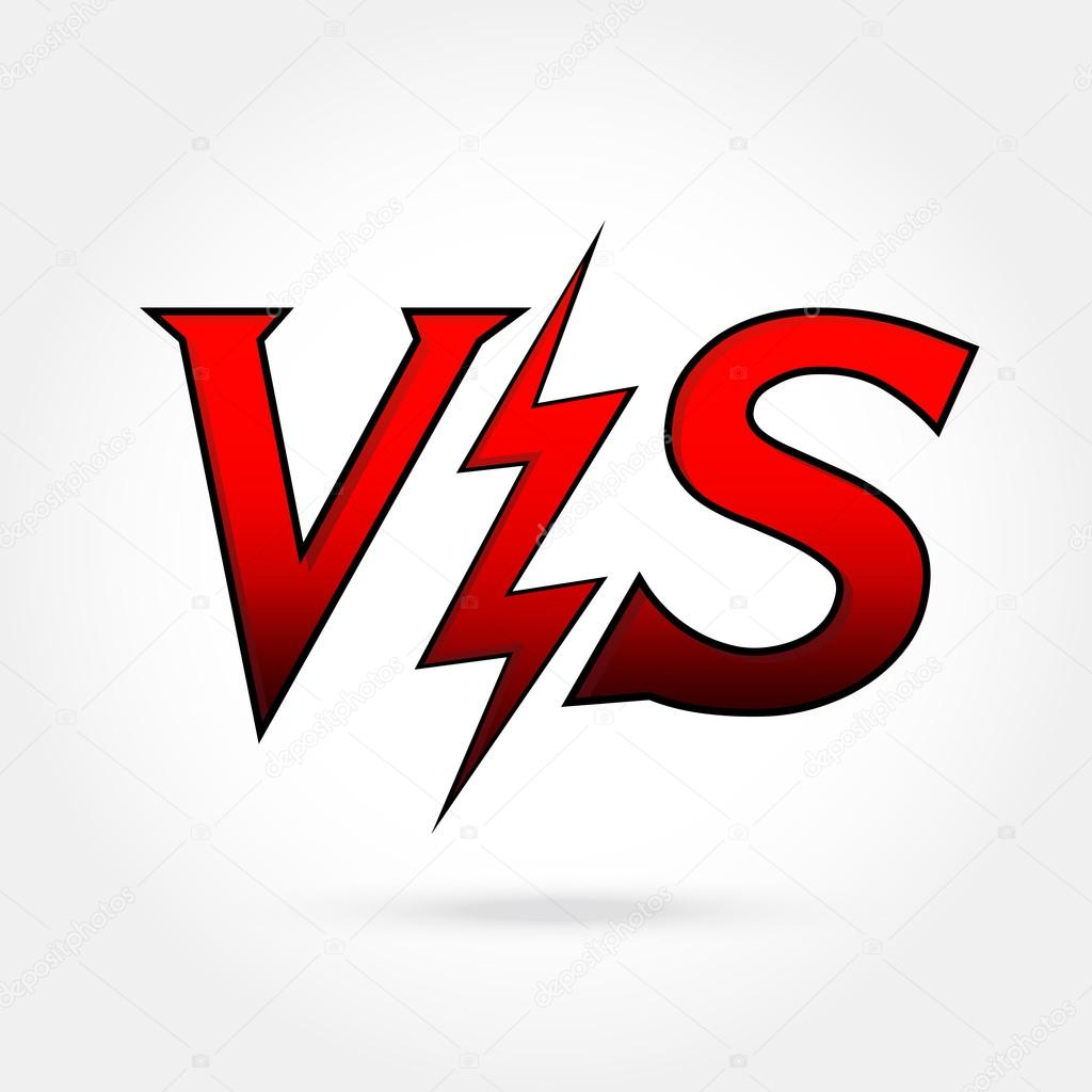 Versus Vector Icon