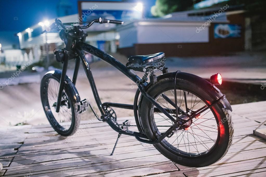 Bicicletta Chopper Custom Foto Stock Tolu4f 113502068