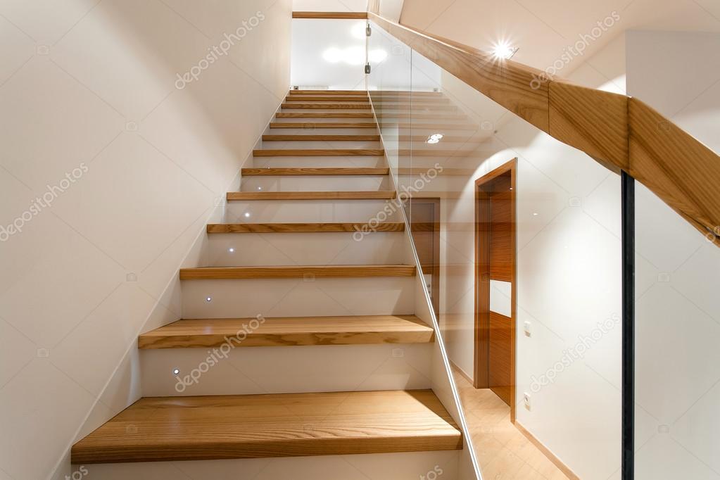 Inneren Wohnung Mit Treppe U2014 Stockfoto