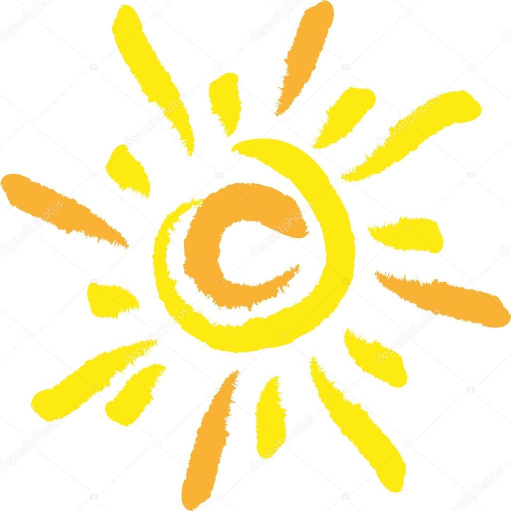 Sonne, Vektor, Logo, Zeichen, Symbol — Stock Vector ...