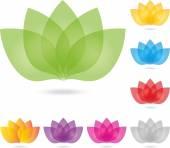 Logo, Blatt, Blume, Heilpraktiker