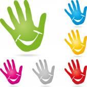 Logo, rukou, Kinderarzt, Lachen