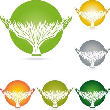 Logo, Baum, Pflanze, Heilpraktiker