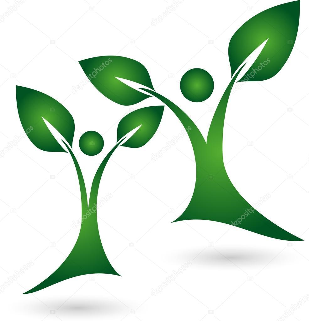 Logo, Pflanze, Blatt, Menschen, Heilpraktiker