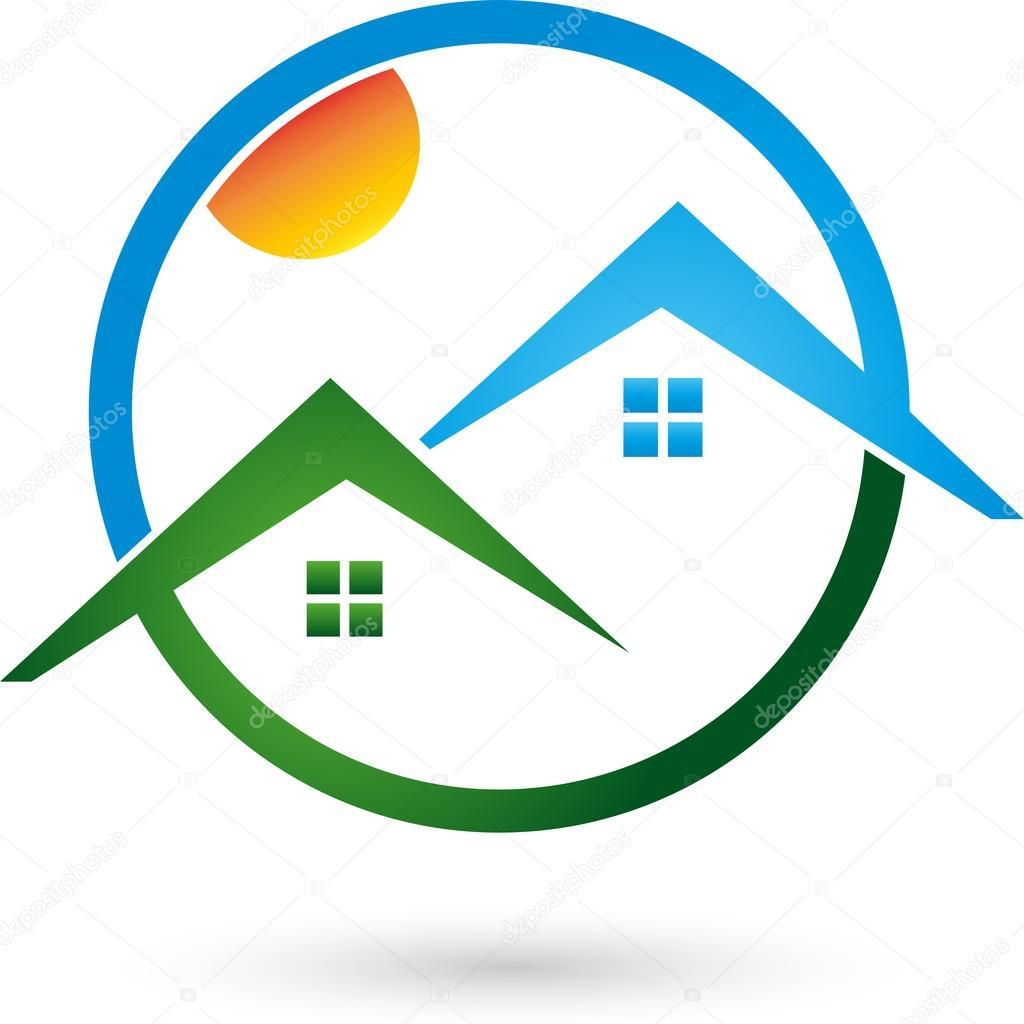 Logo, Immobilien, Haus, Dach U2014 Vector By Waldemar Hoelzer