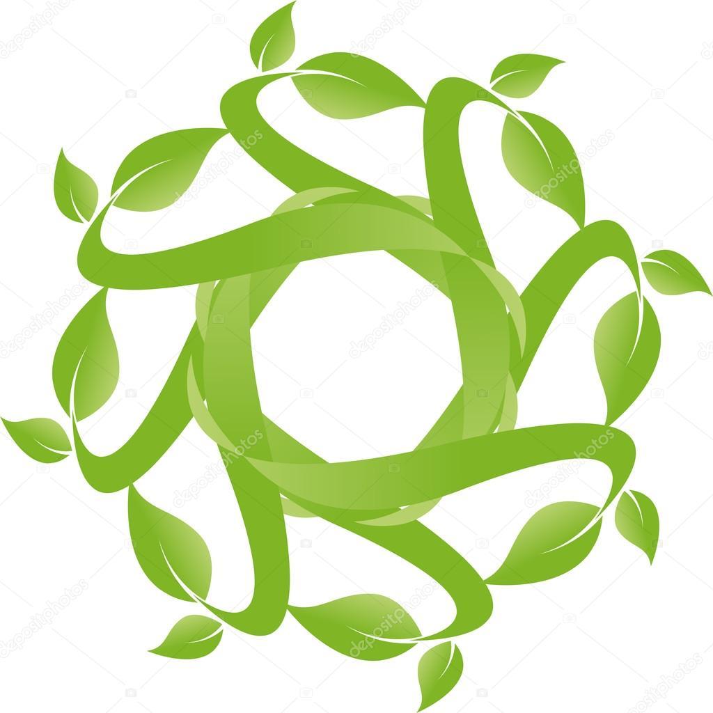 Pflanze, Blatt, Hintergrund, Vektor