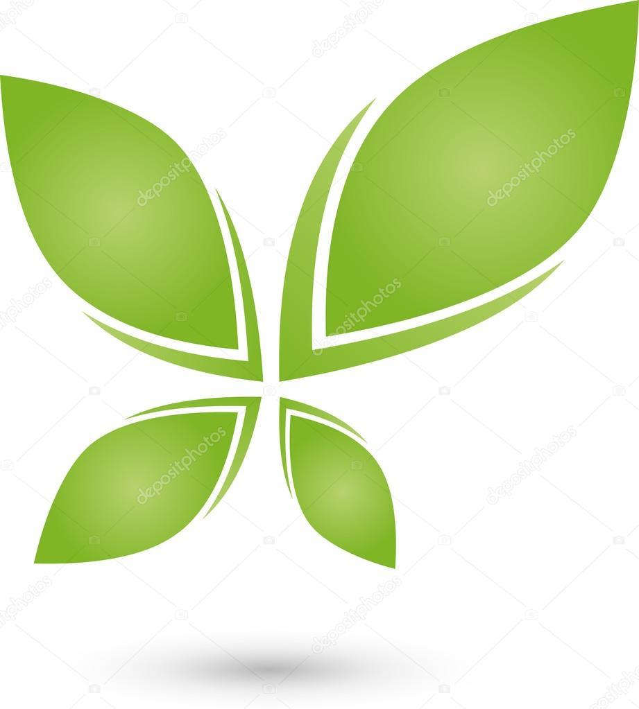 Pflanze, Blatt, Logo, Bio, Heilpraktiker
