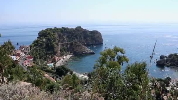 Taormina - Panoramica dell'Isola Bella