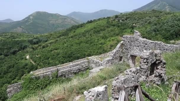 Mercato San Severino - Panoramica dai ruderi del castello normanno