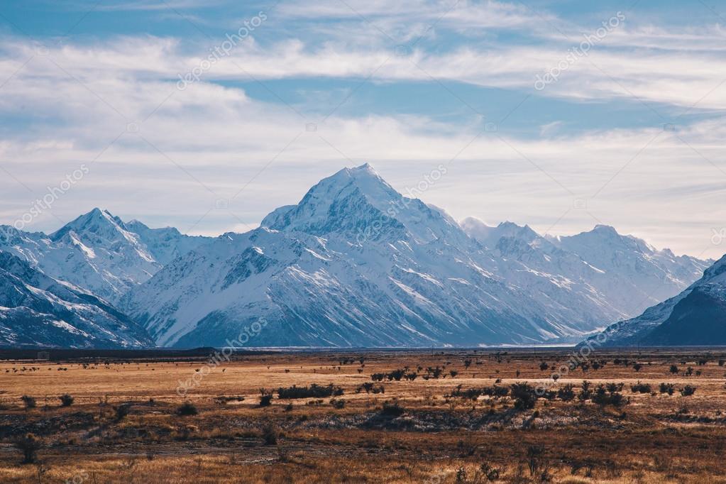 Mount Cook landscape