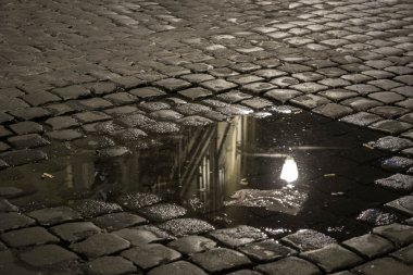 Puddle in Rome