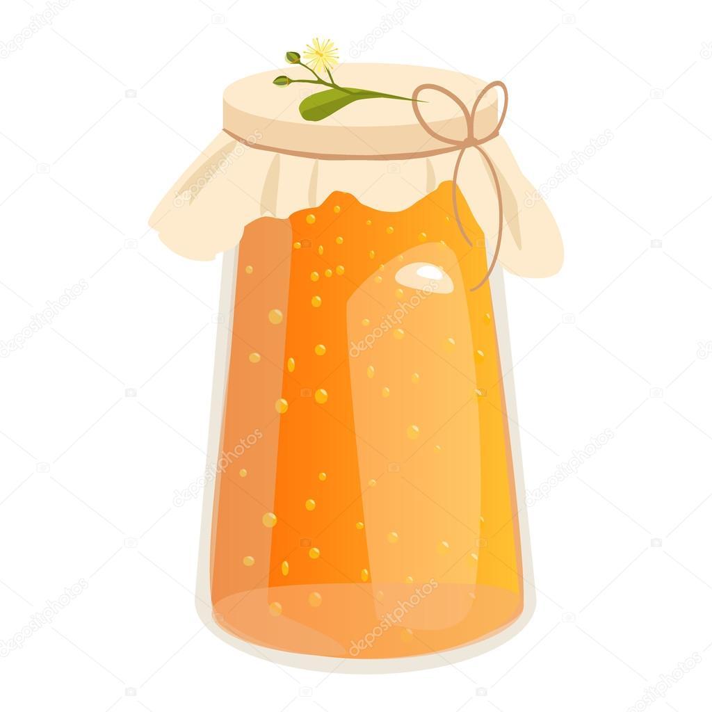 蜂蜜瓶ベクター イラスト ストックベクター Gnatiuklv At Mailru