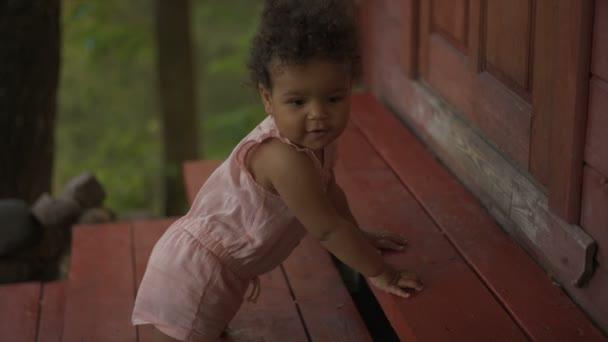 Šťastné dítě afroamerické
