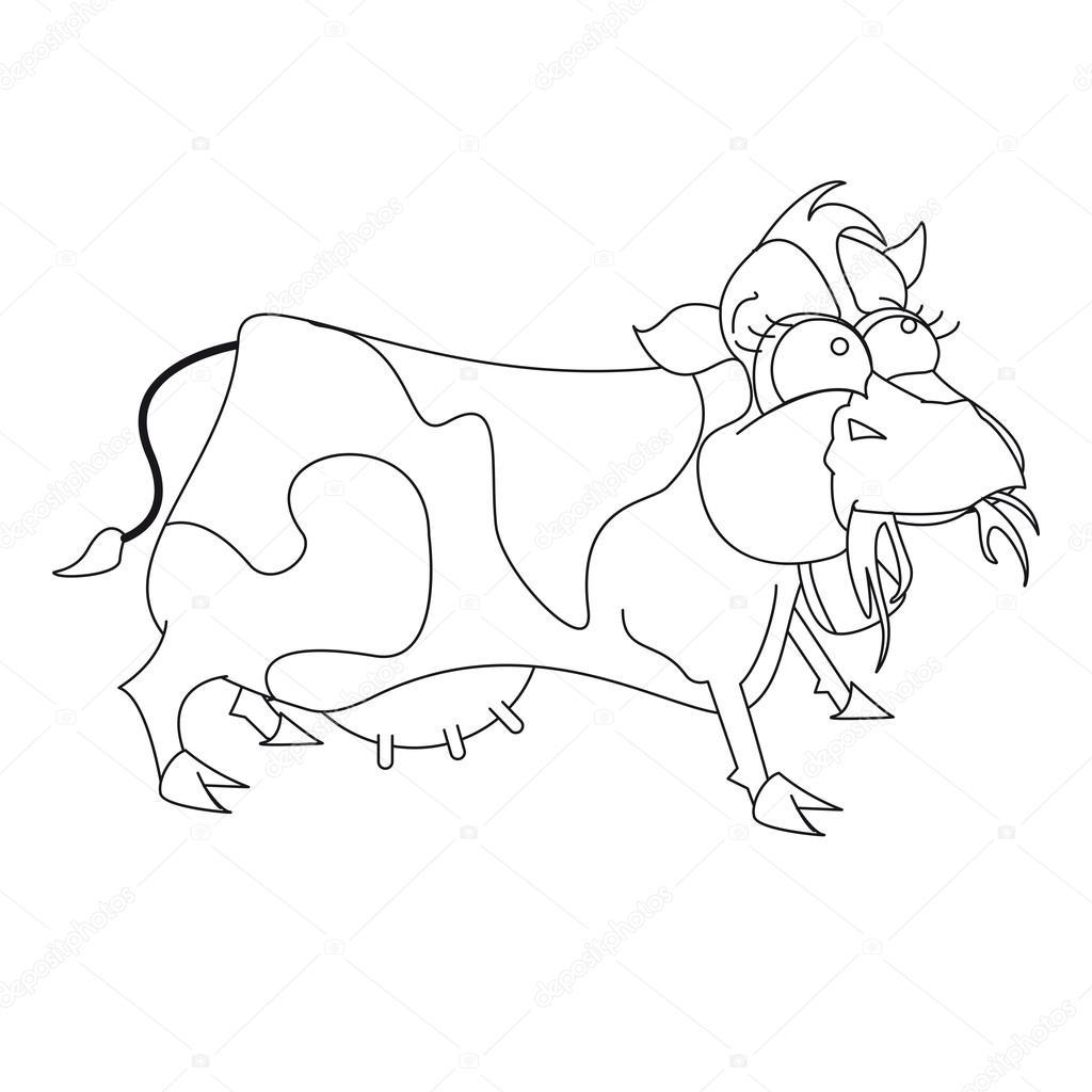 Kuh für Buch Malvorlagen — Stockvektor © tommaso78urbinati #115098228