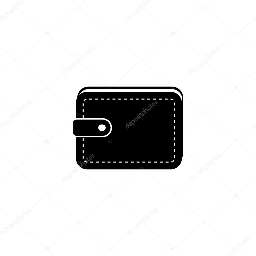 wallet icon black icon on white background stock vector c mut mut 115535970 https depositphotos com 115535970 stock illustration wallet icon black icon on html