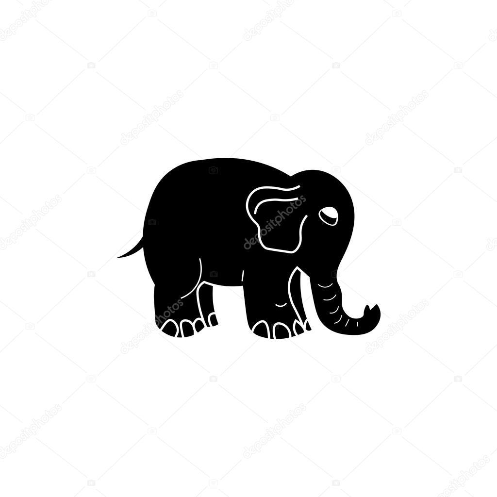 Symbol Elefant