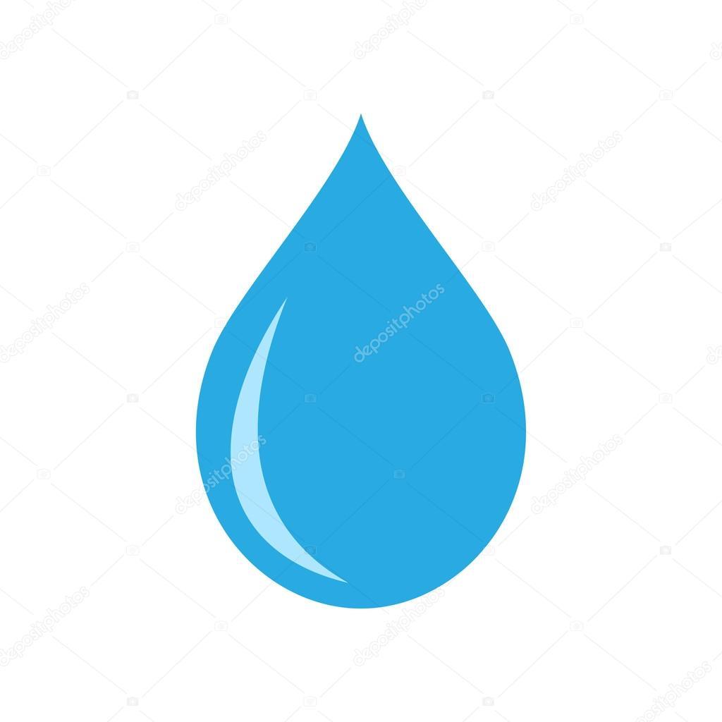 water drop vector icon stock vector shaitan1985 115766012 rh depositphotos com water droplet vector icon cartoon water droplet vector