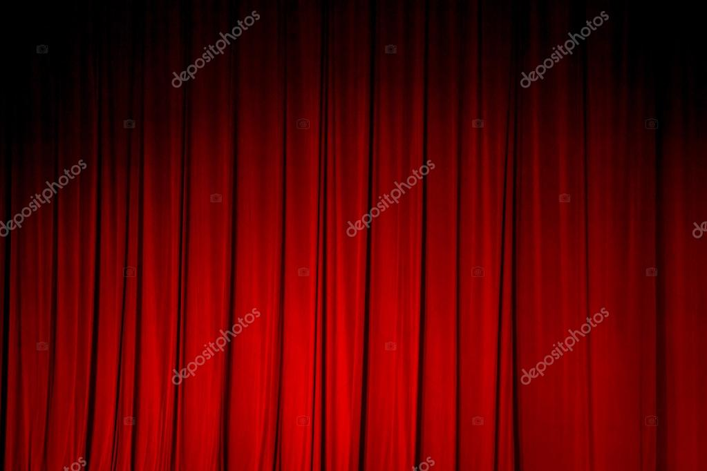 Red curtain backgrounds  — Stock Photo © sitthipong pak gmail com