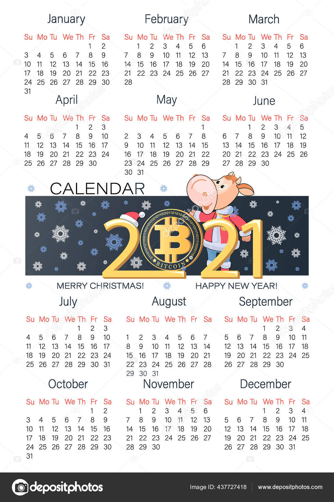 calendarul btc 2021