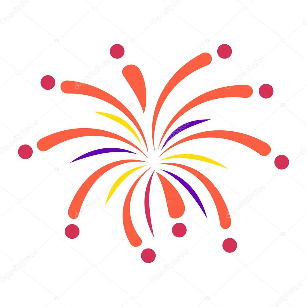 Fireworks vector icon isolated — Stock Vector © VectorShow ...Fireworks Icon