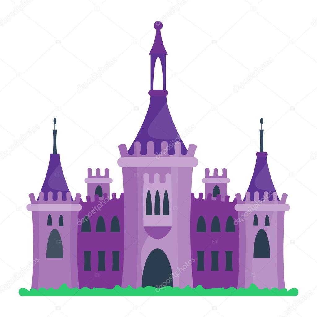 tecknat slott