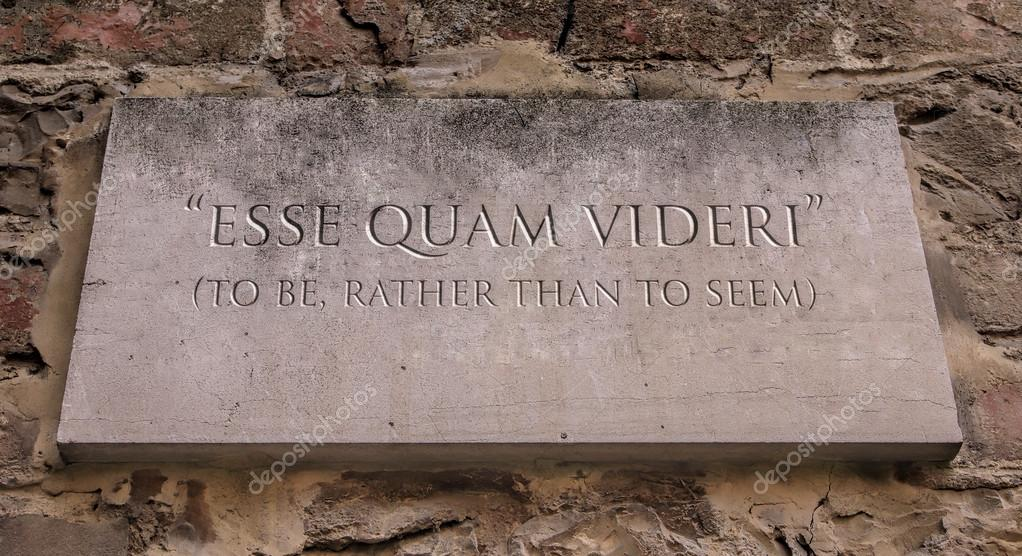 Esse Quam Videri A Latin Phrase Meaning To Be Rather Than To Seem To Be Appalachian State University S Motto Engraved Text Stock Photo C Zapomicron 120500230 Right now a completely fabricated election fraud claim is dividing republicans. https depositphotos com 120500230 stock photo esse quam videri a latin html