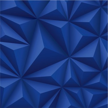 Blue polygons geometric texture