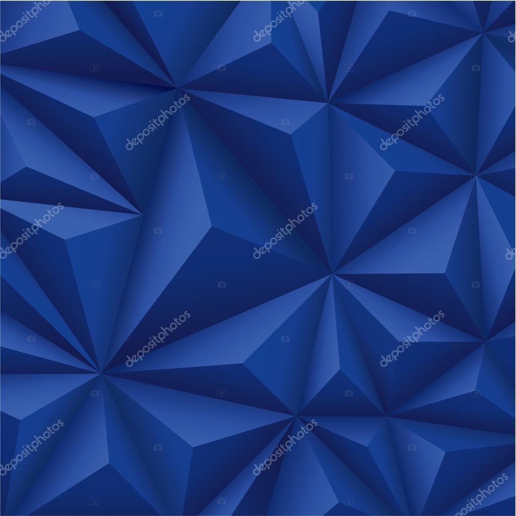 Blue polygons geometric texture