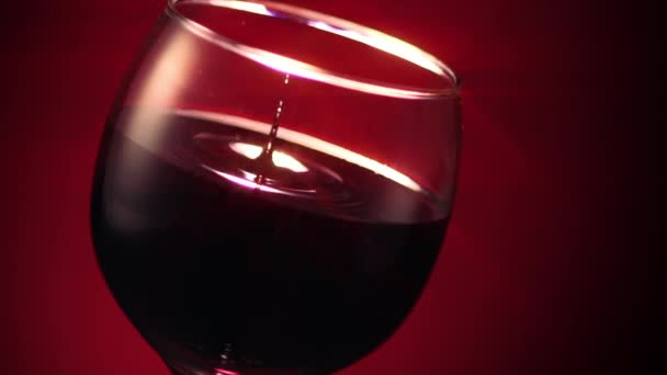 Red Wine Glass Drop Ripple Star Filter