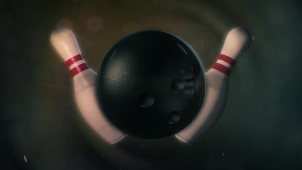 Bowlingové koule v epické osvětlení