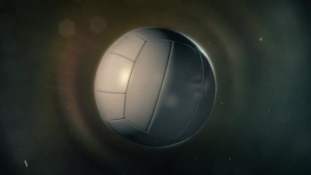 Volejbal v epické osvětlení